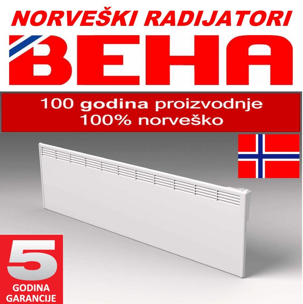 Beha norveski radijatori